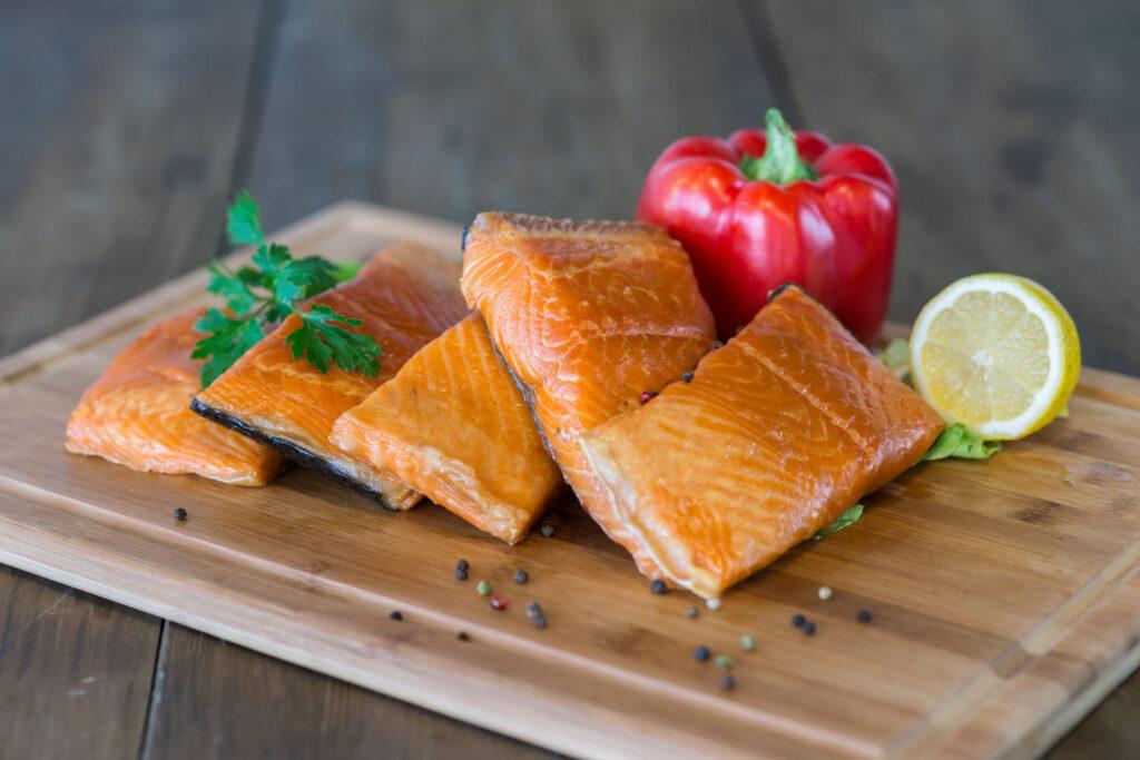 Stek z łososia atlantyckiego